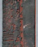 Japanische Stoffe I, 2010, 140 x 51 cm