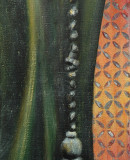 Posament, 2008 Öl auf Leinwand, 50 x 20 cm