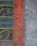 Großes Tuch – vertikal, 2006 Öl auf Jute, 140 x 70 cm