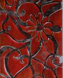 Großes Blütenornament III, 2011 110 x 28 cm